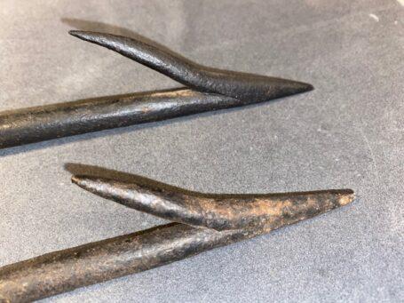 Antieke harpoenpunt