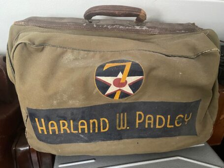 Usaaf bag Harland.W. Padley