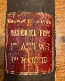 Franse spoorwegen atlas