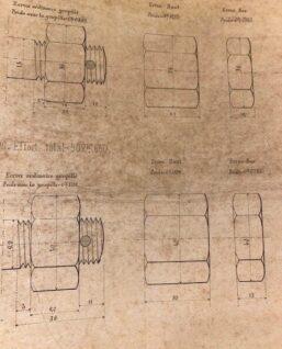 maatvoering tekening frans spoor