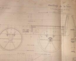 technische tekening spoorwegen
