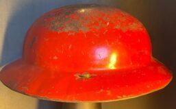toy helmet fire fighter marx