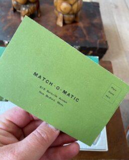 garantiebewijs match-O-matic
