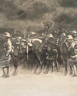 art by artist H.A.Lake 1917