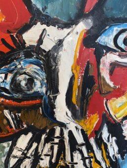 schilderij hans