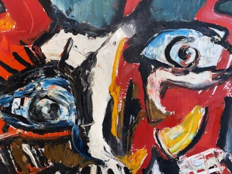 schilderij hans A