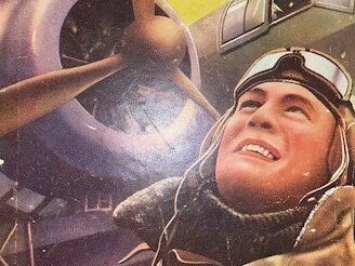 pilot next to HP Hampden RAF