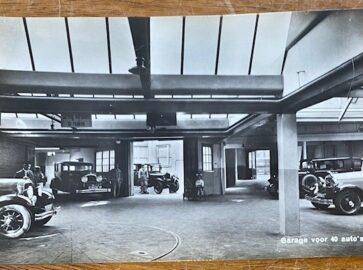 garage onder park hotel amsterdam