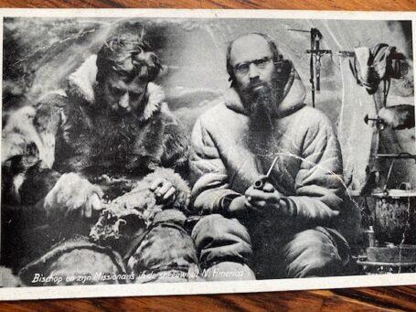 briefkaart met Paters oblaten
